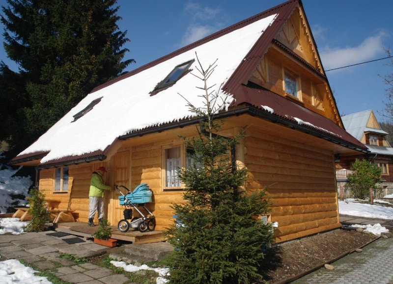 Drewniane domki Zakopane
